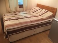 double bed with mattress, , 3pic settee
