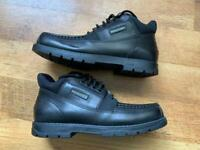 **Brand New With Tags Unboxed Men's Black Rockport Boots**