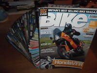 'BIKE' Motorbike Magazine x22 Issues