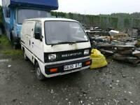Bedford Rascal Sooty and Sweep van export