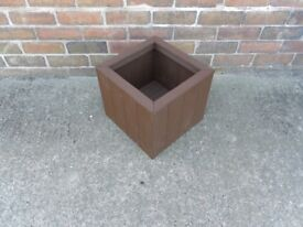 NEW HANDMADE WOODEN PLANTER