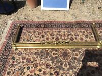 Antique extenerble brass fender
