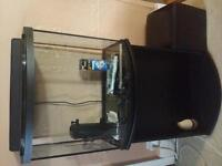 26 gallon tank with stand.