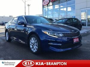 2016 Kia Optima EX NAVIGATION SUNROOF BLUETOOTH LEATHER LOADED!!