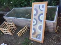 Wine Rack, Cd Rack and Picture FREE