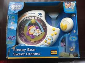 Vtech baby sleepy bear sweet dreams projector & soother
