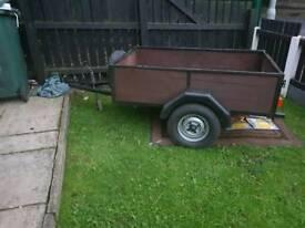 Excellent car trailer