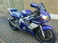 Yamaha r6 yzf 600 5eb 2000