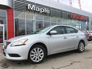 2013 Nissan Sentra 1.8 S-A/C,1.9% Financing available, Low Milea