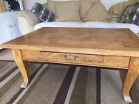 John Lewis coffee table and side table