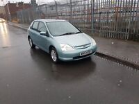 HONDA CIVIC 1.6i VTEC EXECUTIVE AUTOMATIC 5dr 02 REG - 93000 MILES ONLY
