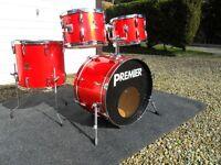 Vintage Premier Royale 4 drum kit