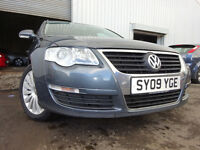 09 VOLKSWAGEN PASSAT HIGH LINE TDI 140 DIESEL ESTATE,MOT AUG 017,1 OWNER,2 KEYS,FULL SERVICE HISTORY