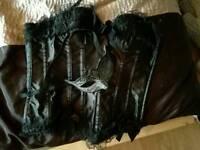 Corset and masquerade mask