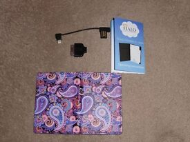 HALO 3000mAh Portable Charger RFID Card Wallet & Mirror Finish
