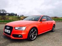 2013 AUDI A4 2.0 TDI S LINE BLACK EDITION SHOWROOM CONDITION..a3 a5 rs 4 320 330 gt tdi golf