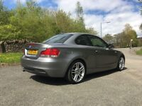 BMW 120d Coupe M sport, Heated leather, Low mileage!