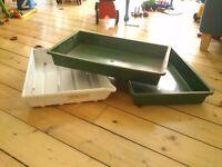 FREE large seed trays