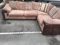 Stunning Dfs corner sofa delivery immidiate