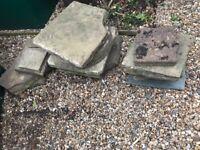 Free stone slabs