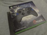 XBOX ONE GEARS OF WAR 4 LIMITED EDITION JD FENIX CONTROLLER / NEW & SEALED / PAY-PAL / SECURE POST.