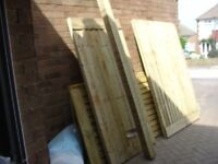 FENCE POSTS 8FEET LONG 4X4 WIDE PREASURE TREATED