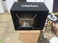 Used Subwoofer Clarion Perfect Condition