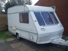 1995 2 berth abi marauder with large porch awning