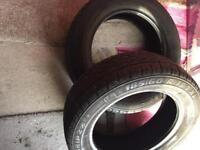 Pair of winter tyres 185/60/15
