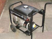 Petrol generator.