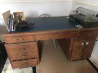 Vintage desk for collection