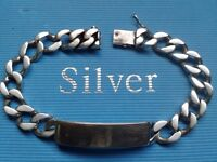 HEAVY SILVER, I.D, CURB