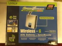 Linksys Wireless - 6 ADSL Gateway with Speed Booster