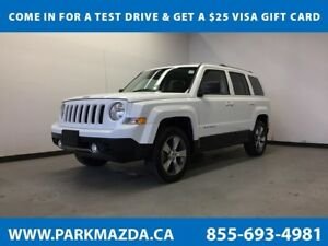 2016 Jeep Patriot High Altitude 4x4 - Heated/Leather Seats, Moon