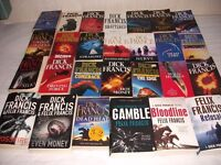 Dick Francis & Felix Francis Crime Paperback Books 27 in Total.