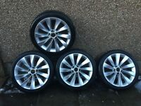 Vw scirocco interlago alloys