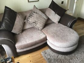 3 seater sofa chaise and chair