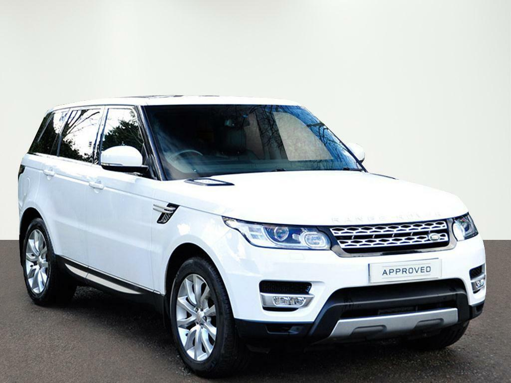 land rover range rover sport sdv6 hse white 2014 01 14. Black Bedroom Furniture Sets. Home Design Ideas