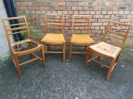 1950's Beech Dining Chairs