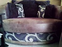 Swivel Cuddle Chair (quick sale needed..)