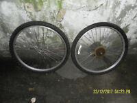 2 x 26 x 175 ALLOY Wheels (incl. tyres)