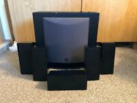 5.1 Home Cinema Speakers and Sub Woofer