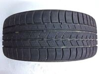 BMW Two Winter Run Flat Tyres for Sale Part Worn - £50 the Pair 225/45R17