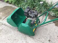 Qualcast Petrol Cylinder Lawnmower