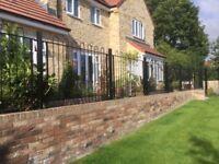 Wrought iron railings and gates