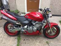Honda hornet cb600f back up for sale due to buyers unforeseen circumstances