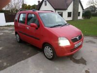 02 Vauxhall Agila 1.2. MOT September 18. PX to clear, Sold as spares/repairs. Just £295 ovno.