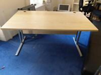 1 x office desk 120x80 cm on clearance at just £30 only