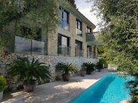 Spectacular Villa at the top of Saint Jean Cap Ferrat with Panoramic view