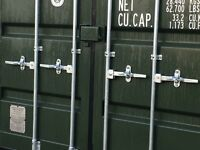 Secure Self Storage in Shipping Container